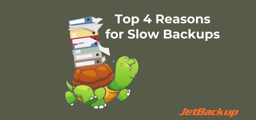 Top 4 Reasons for Slow Backups