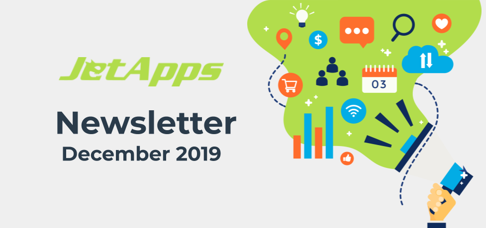 JetApps Newsletter December 2019