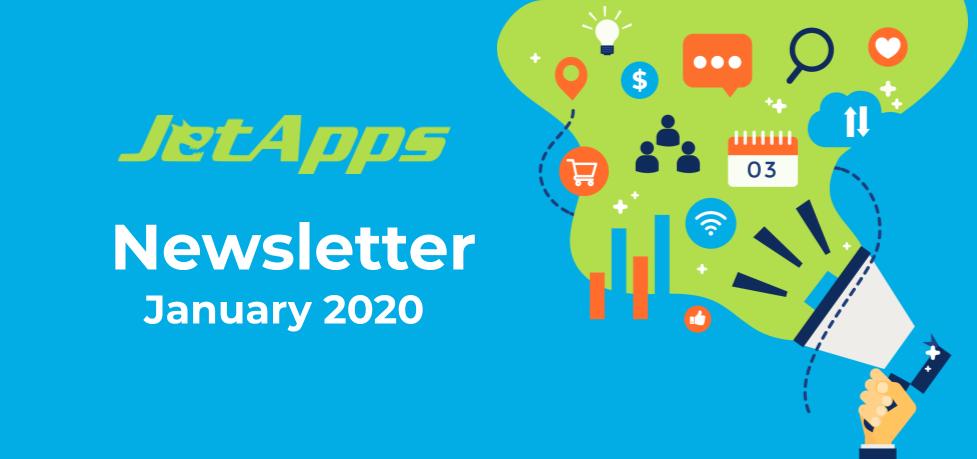 JetApps Newsletter January 2020