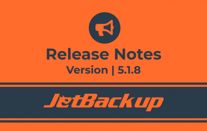 JB5 Release Notes Version 5.1.8