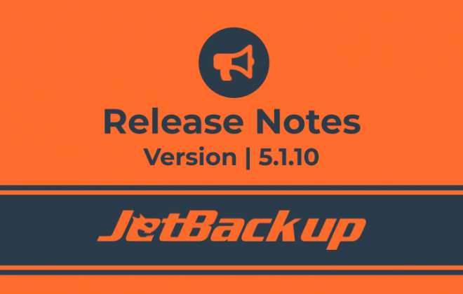 JetBackup 5.1.10 Release Notes