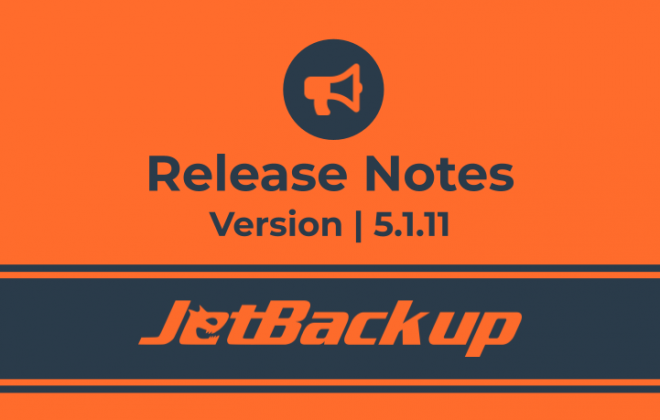 JetBackup 5.1.11 Release Notes