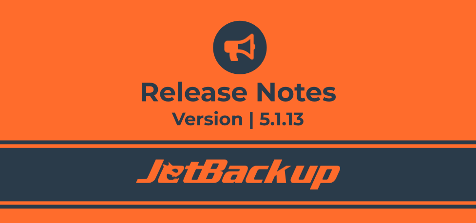 JetBackup 5.1.13 Release Notes